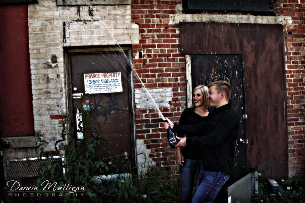 engagement photographs of an edmonton couple