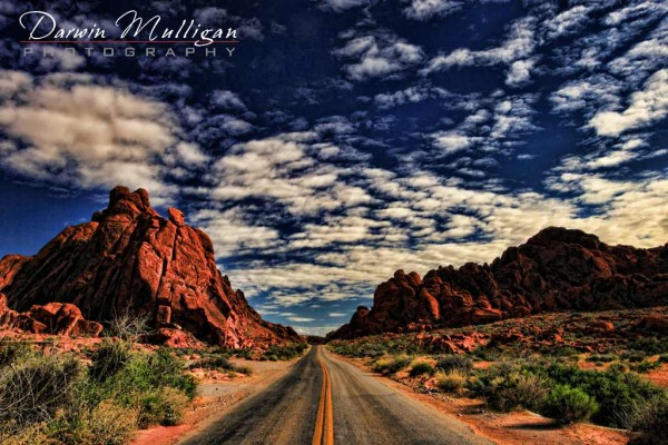 Nevada landscape photography,highways,Valley of Fire