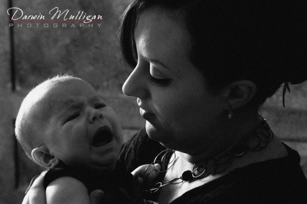 Parent and child photography