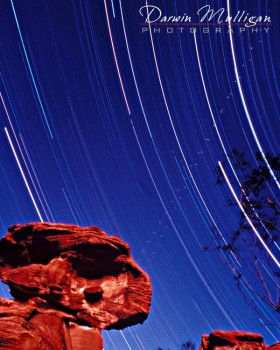 Valley of Fire State Park, Nevada,Las Vegas,star trails,night photography