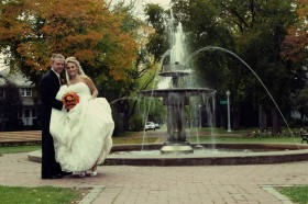 Edmonton wedding photos at Alexander Circle, Old Glenora