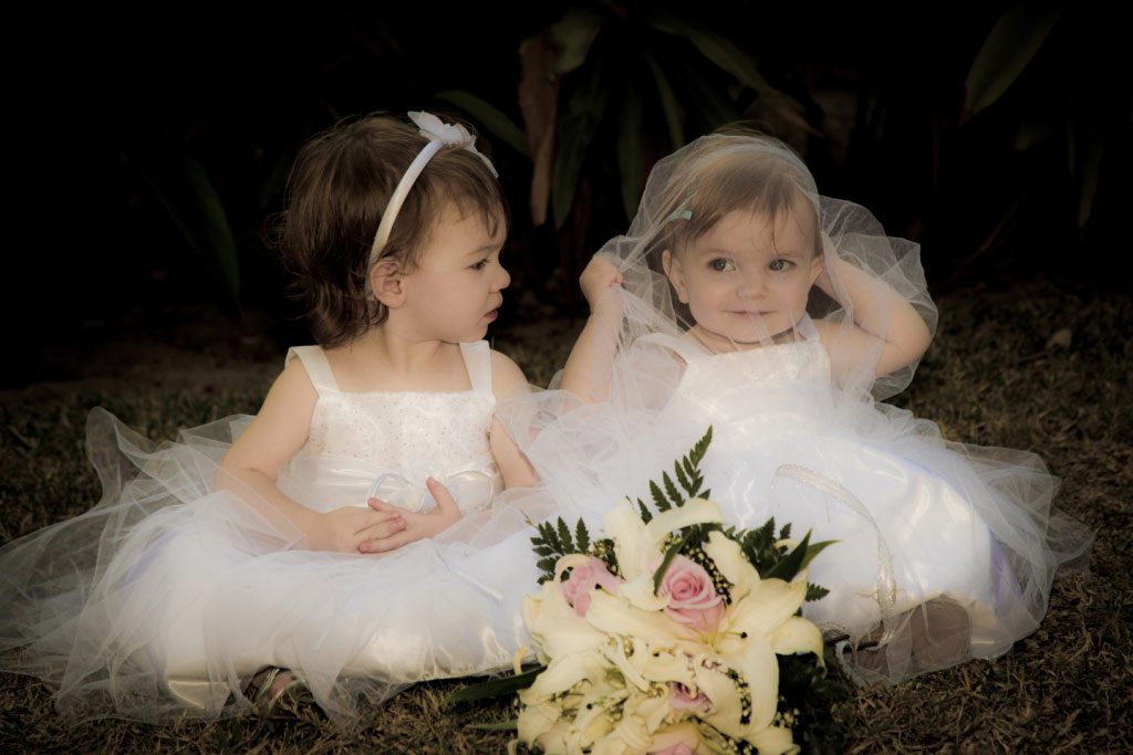 Flower Girls Edmonton Wedding Photography