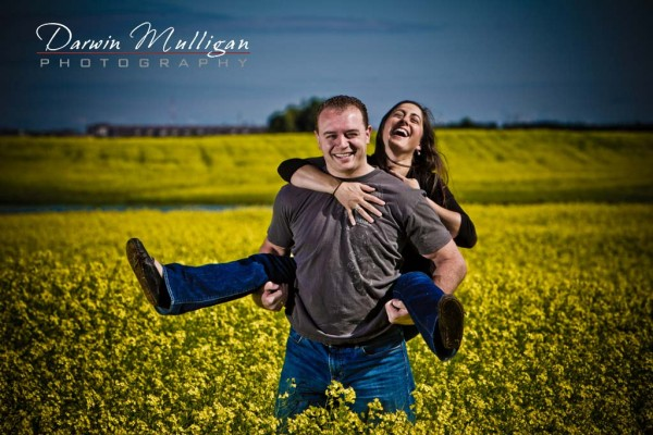 Liza and Real Edmonton Engagement Photography Session