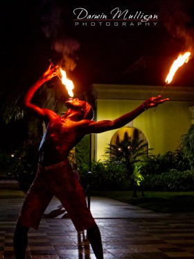 Fire Dancer, Sandals Whitehouse, Jamaica