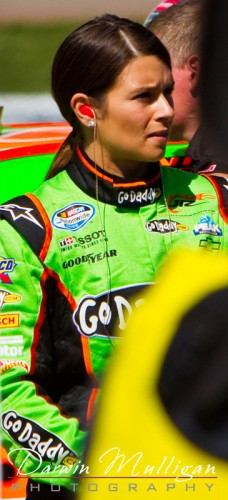 NASCAR races in Las Vegas, Nevada, featuring Danica Patrick of Go Daddy.com fame
