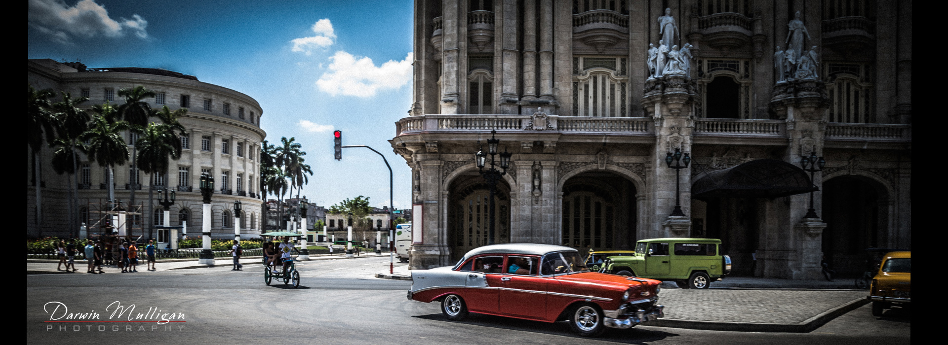 Old-1950-era-Chevy-Bel-Air-old-town-Havana-Cuba