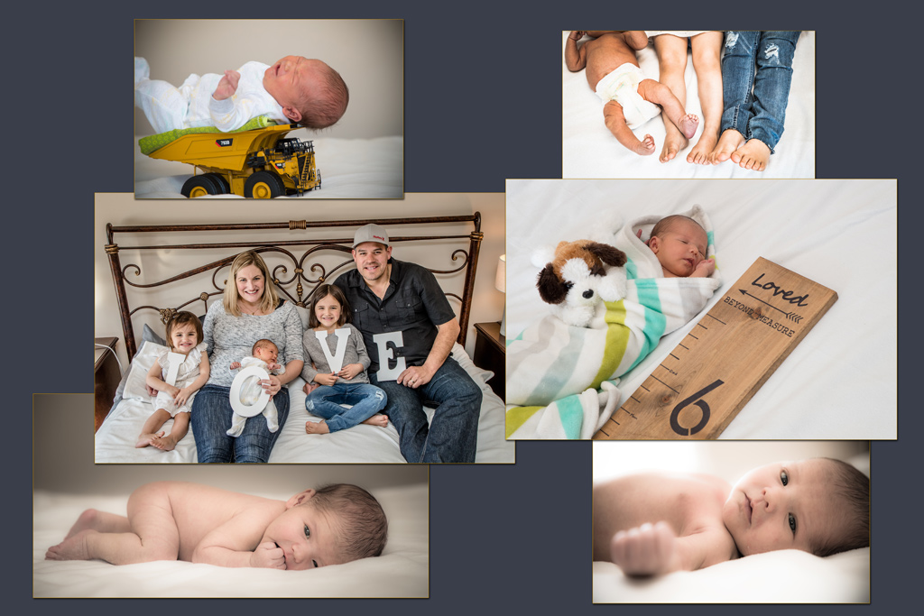 Edmonton-portrait-and-baby-photographer-newborn-collage